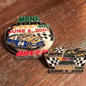 NASCAR Dover pins set